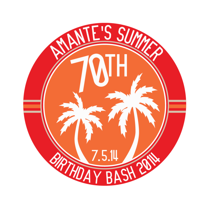 Summer Birthday Bash 2014 Logo